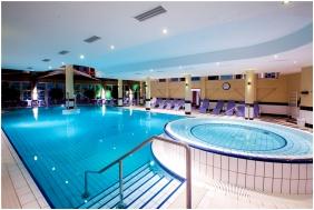 In the winter, Lotus Therme Hotel & Spa, Heviz