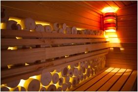 Sauna, Lotus Therme Hotel & Spa, Heviz