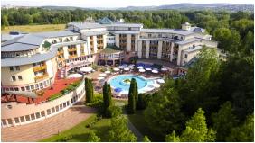 Felülnézet, Lotus Therme Hotel & Spa, Hévíz