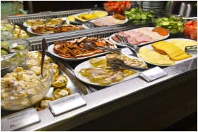 Buffet breakfast, Royal Club Hotel, Visegrad