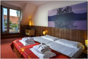 Sleeping room, Royal Club Hotel, Visegrad