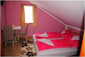 Rózsapark Vendégház, Franciaágyas szoba