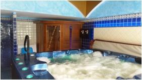 Siesta Club Hotel - Harkany, Innerer Garten
