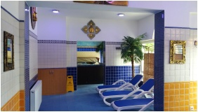 Siesta Club Hotel, Harkany, Whirl pool