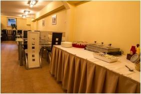 Breakfast room, Silver Club Hotel, Matraszentimre