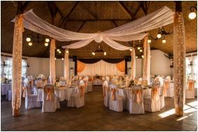 Silver Major, Hajduszoboszlo, Weddingmeal setting