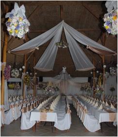 Silver Major, Weddingmeal setting - Hajduszoboszlo