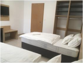 szobabelső, Smart Rooms Motel, Székesfehérvár