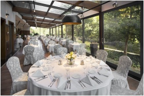 Spirit Hotel Thermal Spa - Sarvar, Garden restaurant