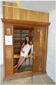 SunGarden Wellness & Conference Hotel, Infrared sauna - Siofok