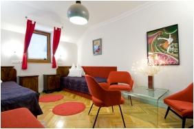 Kétágyas szoba, Szárcsa Hotel, Székesfehérvár