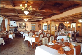 Hotel Szarcsa, Restaurant