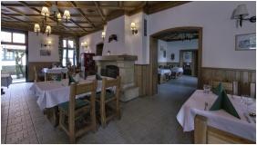 Pension St. Hubertus - Paradsasvar, Restaurant