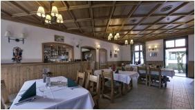Szent Hubertus Panzió - Parádsasvár, Hangulatos étterem