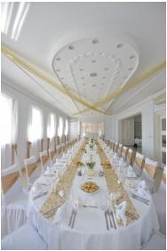 Hotel Szent Istvan, Weddingmeal setting - Eger