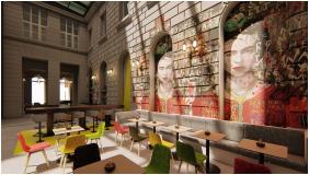 Frühstücksraum, T62 Hotel, Budapest