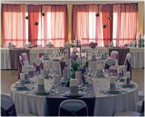 Hunguest Pelion Hotel, Tapolca, Esküvői teríték