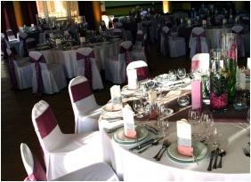 Esküvői teríték - Hunguest Pelion Hotel