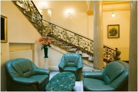 Tisza Hotel, Recepció környéke