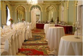 Tisza Hotel, Szeged, Festive place setting