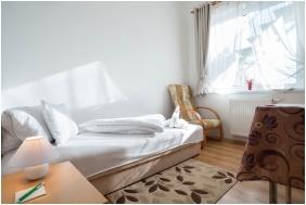 Comfort egyágyas szoba, Toldi Panzió, Hévíz