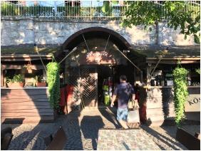 Winding staircase, Castle Hotel Var, Visegrad