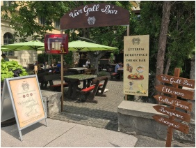 Castle Hotel Var, Restaurant - Visegrad
