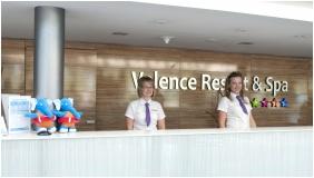 Hotel Velence Resort & Spa, Recepció - Velence