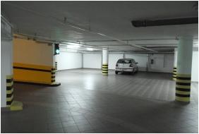 Subterranean garage, Hotel Venus, Zalakaros