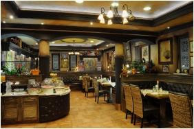 Étterem, Villa Classica Hotel, Pápa