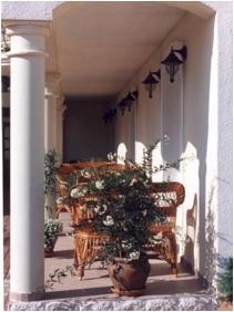 Villa Mediterran - H�v�z, Veranda