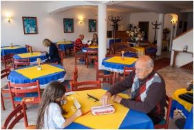 Breakfast room, Villa Mediterran, Heviz