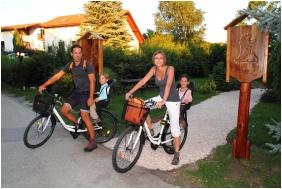 Biciklizés - Villapark Várgesztes