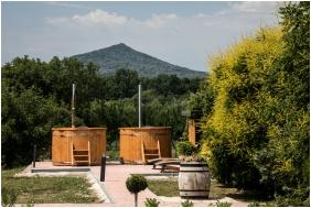 Vitis Hotel, Belső kert - Villány