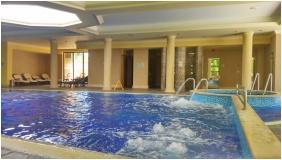 Inside pool, Castle Hotel La Contessa, Szilvasvarad
