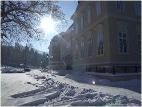 In the winter - Castle Hotel La Contessa