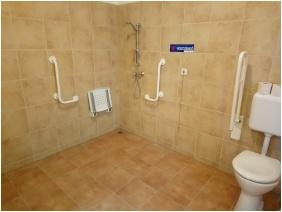 Zarándokszállás, Fürdőszoba - Csurgó