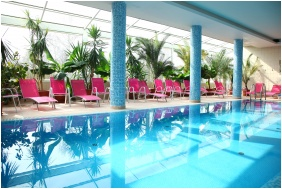 Inside pool, Zsory Hotel Fit, Mezokovesd