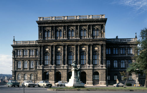 Budapest - Pictures of Buildings - Academy of Sciences