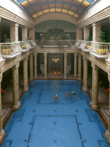 Budapest spa pictures - Gellert Spa