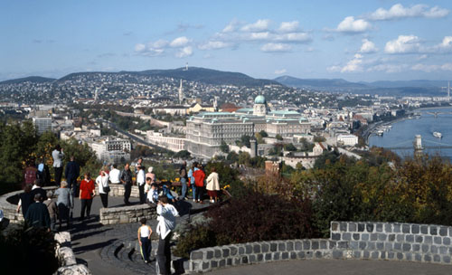 Budapest Panorama Pictures - From Gellert Hill
