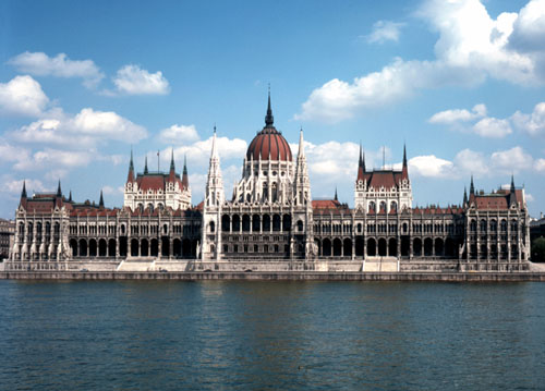 Budapest - Pictures of Buildings - Parliament