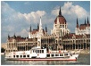 Sightseeing in Budapest on a riverboat cruise